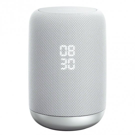 Sony LF-S50G Smart Speaker w/ Built-In Google Assistant WHITE - Open Box