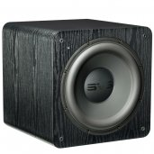 "SVS SB-2000 500 Watt DSP Controlled 12"" Compact Sealed Subwoofer Black ash"