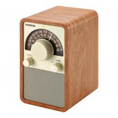 Sangean WR-15 AM/FM Table Top Radio WOOD