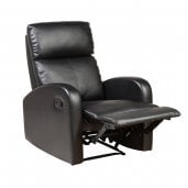 Prime Mounts PMC-8995-1 Bonded Leather Single Maternity Chair BLACK