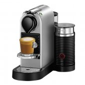 Breville Nespresso Citiz and Milk Coffee Machine w Integrated Milk Frother SILVER