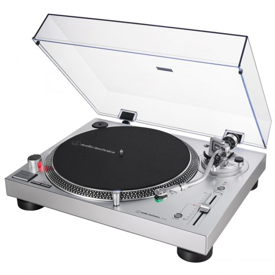 Audio-Technica AT-LP120XUSB-SV Direct-Drive Analog & USB Turntable SILVER
