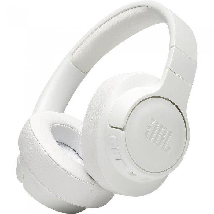 JBL Tune 700BT Wireless Over-Ear Headphones WHITE - Click Image to Close