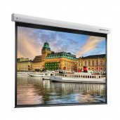 "Grandview CB-MIR 200"" Integrated Cyber Motorized White Casing Projection Screen 4:3"