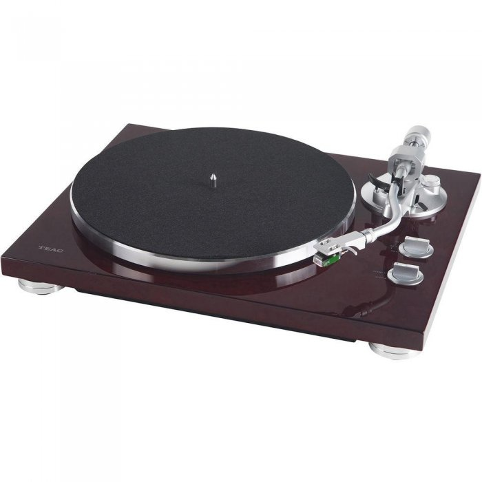 Teac TN-400S-CH 2-Speed Analog Turntable with with Phono Amplifier & USB Out CHERRY - Click Image to Close