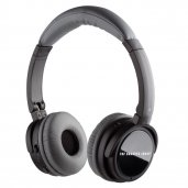 Sharper Image SNC201 Noise Cancelling Headphones BLACK