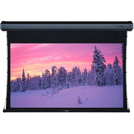 "Grandview LF-MIR 135"" Integrated Tab Tension Motorized Projector Screen 16:9"