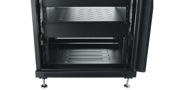 Omnimount Re18 Enclosed Half Rack Component Storage System